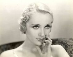 Carole Lombard, 1930s, by Richee.