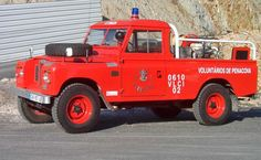 "1-Ton 109"" Land-Rovers 1968-77 - 1-Ton fire tender still in use in Portugal."