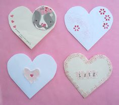 The cutest upcycled valentines -- made out of envelopes!