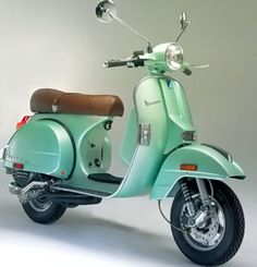 Mint moped I want one SO BAD! EJ promised I could get one once we sell the mini!