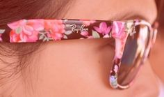 Flowered Ray Bans