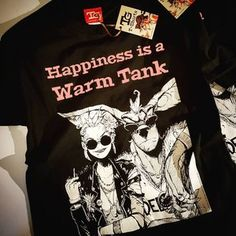 Image of Happiness is a Warm Tank T-shirt