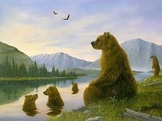 bears...at this moment in time....NO cares in the world!
