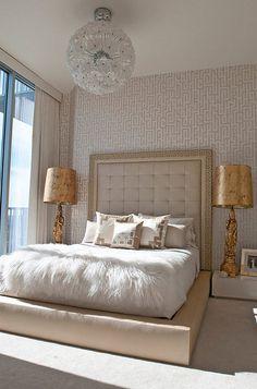 gilded bedroom