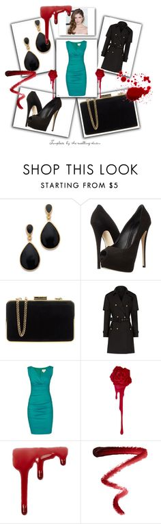 """""""Untitled #13"""" by nisa-hadzic ❤ liked on Polyvore featuring Kenneth Jay Lane, Giuseppe Zanotti, MICHAEL Michael Kors, Burberry, Nicole Miller, Topshop and Ellis Faas"""