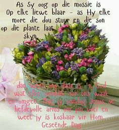 Good Morning Good Night, Good Morning Wishes, Lekker Dag, Evening Greetings, Afrikaanse Quotes, Goeie More, Special Quotes, Beautiful Landscapes, Beautiful Pictures