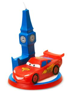 Disney Cars 2 Molded Candle, 73833