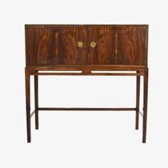 Rosewood Silverware Cabinet by Heltborg Møbler