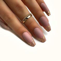 Chic Nail Designs Picture matte nails for fall simple matte nailschic nail designs Chic Nail Designs. Here is Chic Nail Designs Picture for you. Chic Nail Designs cheap and chic nail art design nail art volish polish. Matte Nail Art, Cute Acrylic Nails, Gel Nails, Glitter Nails, Gold Glitter, Stiletto Nails, Toenails, Matte Gold, Matte Black