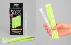 Booze Tubes: The Best Way To Smuggle Alcohol, Period  ... see more at InventorSpot.com
