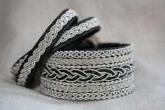 Tin/Leather bracelets Swedish