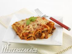 Marhahússal töltött canneloni Lasagna, Ethnic Recipes, Food, Essen, Meals, Yemek, Lasagne, Eten