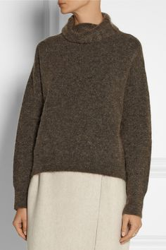 The Row | Atanis mélange knitted sweater