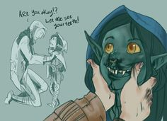 nott the brave and caleb