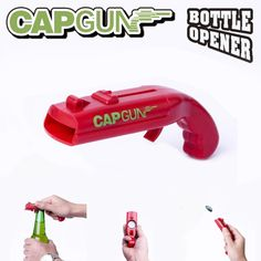 Nerf, Bottle Opener, Toys, Cool Flasks, Catapult, Cool Gadgets, Beer Coasters, Red Color, Activity Toys