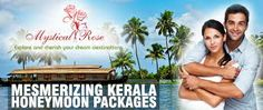 Kerala has the attraction of waterway beauty and space of nature faculty that presents an awesome beauty of Lakes, Rivers and Mountains with the fun of Backwaters, Waterfalls and experience of house boating and candlelight dinner that makes your honeymoon amazing one with the fabulous Kerala honeymoon package.