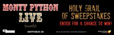I just entered the Monty Python Holy Grail of Sweepstakes from Fathom Events for a chance to win Monty Python prizes! Click here for your chance to win.