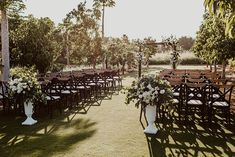 This rustic chic meets glam destination wedding took place in beautiful Los Cabos, and it was quite the smash. From the Berta wedding dress to the sparkler-lit salsa dance to the earth toned florals, you would be hard pressed to find a wedding with more guest experience and heart. See the full story on Ruffled!