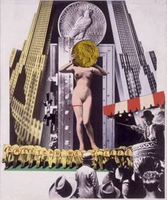 The American Way of Life de Josep Renau Fata Morgana, Love Collage, Collage Art Mixed Media, Collages, Photomontage, Culture Jamming, Losing My Religion, Creative Review, Consumerism