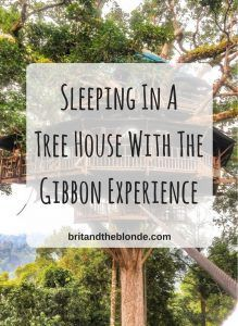 Sleeping In A Treehouse At The Gibbon Experience, Laos - The Brit & The Blonde Laos Travel, Asia Travel, Travel Tips, Travel Articles, Natural World, Southeast Asia, Treehouse, National Parks, Around The Worlds