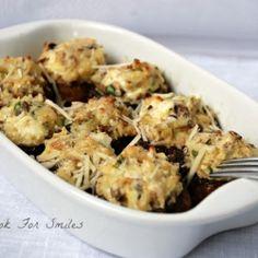 Stuffed Mushrooms recipe. They look super yummy!