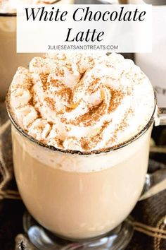coffee recipes White Chocolate Latte Recipe ~ Delicious, Easy, Homemade White Chocolate Latte Recipe that Will Have You Sipping Lattes Whenever You Want! via julieseats Keurig Recipes, Nespresso Recipes, Coffee Drink Recipes, Starbucks Recipes, Tea Recipes, Dessert Recipes, Coffee Drinks, Ninja Coffee Bar Recipes, Starbucks Pumpkin