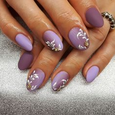 Nail Art Designs Purple Color Primavera - pinmaarja p on projects to try Pink Nail Art, Flower Nail Art, New Nail Art, Purple Nails, Beautiful Nail Designs, Beautiful Nail Art, Nail Polish Designs, Nail Art Designs, French Nail Art