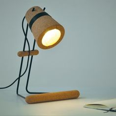 'Kurk' Sustainable Desk Light by Craig Foster