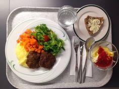 Lähiruokapäivän lounas terveyskeskuksella.