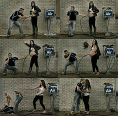 Cute pregnancy stages