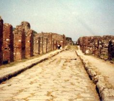1975 A holiday in Sorrento, Italy - Pompeii