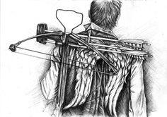 The Walking Dead - Daryl Dixon's wings.
