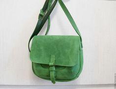 78fb8917b60d Женские сумки ручной работы. Ярмарка Мастеров - ручная работа. Купить  Весенне-зеленая сумочка