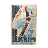 Found it at Wayfair - Rockies Vintage Advertisement Plaque
