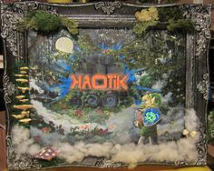 Kaotik Sond System, framed by wickedspaceant on DeviantArt Paintings, Deviantart, Christmas Ornaments, Holiday Decor, Canvas, Frame, Tela, Picture Frame, Paint