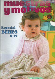 Мобильный LiveInternet Muestras y motivos Bebes Baby Patterns, Knitting Patterns Free, Free Knitting, Baby Knitting, Crochet Baby, Knit Crochet, Knitting Books, Crochet Books, Knitting For Kids