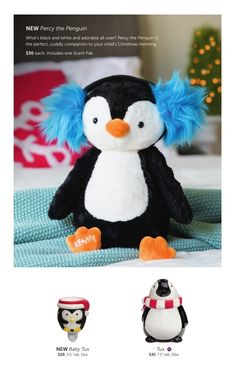 Scentsy Penguins for Christmas and holiday 2015...Percy the Penguin Buddy, Tux Warmer and Baby Tux Nightlight Warmer #scentsbykris