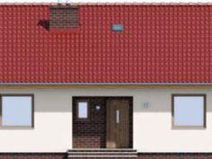 DOM.PL™ - Projekt domu ARD Rumianek 1 paliwo stałe CE - DOM RD1-70 - gotowy koszt budowy Outdoor Decor, Home Decor, Houses, Decoration Home, Room Decor, Home Interior Design, Home Decoration, Interior Design