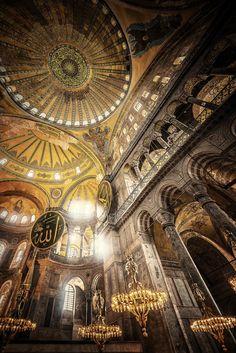 Hagia Sophia. Istanbul Turkey
