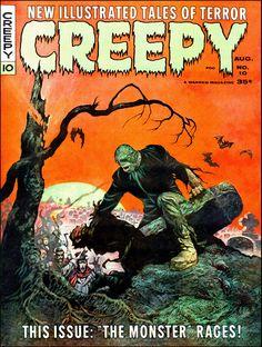 Creepy #10 - Cover by Frazetta