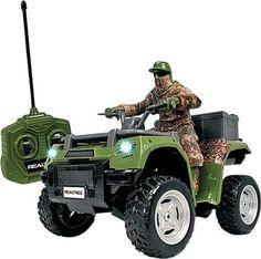 #NEW NKOK 1/14 Realtree® Remote-Controlled ATV with Hunter  #Realtreecamo