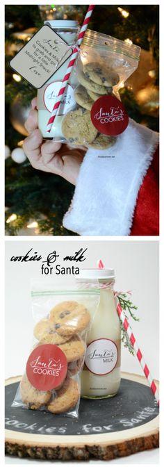 Santa's Cookies and Milk - The Idea Room