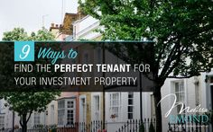 Here are some of the things I do for every investor client of mine when I look for a tenant for their property: