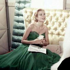 Grace Kelly St. Patrick's Day 1954