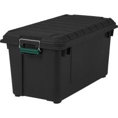 The Iris USA Remington 82 qt. Weathertight Store It All Tote is ideal for keeping your miscellaneous household items safely stowed. With its durable.