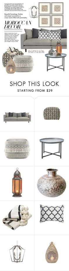 """""""Bohemian Dream: Moroccan Decor"""" by vivalagoon ❤ liked on Polyvore featuring interior, interiors, interior design, home, home decor, interior decorating, House Doctor, Lucky Brand, Levtex and Ziba"""