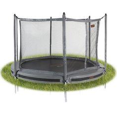 Avyna Pro-Line ø 305 InGround trampoline met net, grijs Trampolines, Rolls Royce, Outdoor Furniture, Outdoor Decor, Home Decor, Play, Decoration Home, Room Decor, Springboard
