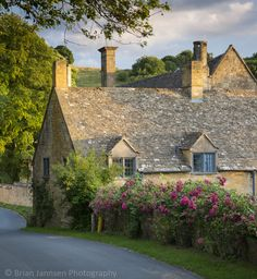 Cotswold Cottage in Snowshill, Gloucestershire, England. © Brian Jannsen Photography