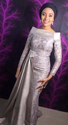 Lovely Asoebi for the hot ladies - DarlingNaija African Party Dresses, African Wedding Attire, African Lace Dresses, Latest African Fashion Dresses, African Print Fashion, African Attire, African Dresses For Women, Lace Gown Styles, African Lace Styles