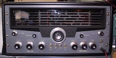 Hallicrafters SX-101 Amateur (Ham) Radio receiver. My first receiver when I was licensed in 1977.